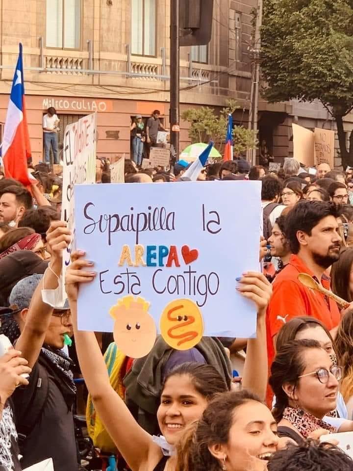 No somos chilenos, pero…