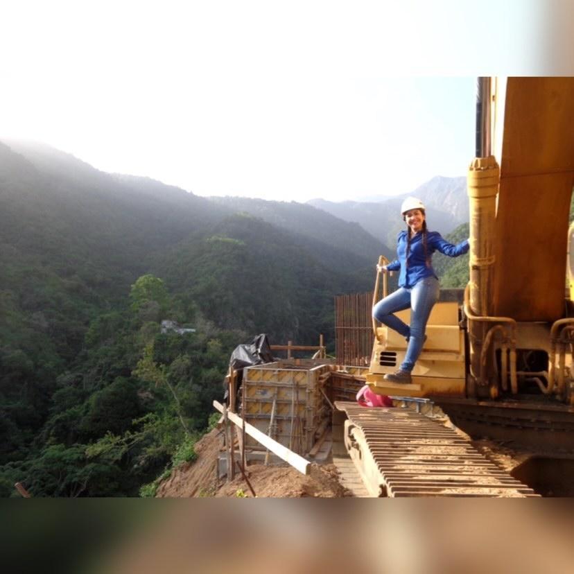Eriana Durán, la ingeniera civil venezolana que coordina proyectos en una inmobiliaria chilena